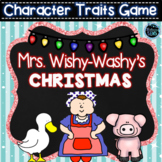 Mrs. Wishy-Washy's Christmas - Character Traits Game