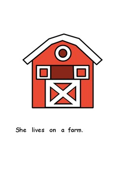 Mrs. Wishy-Washy's Farm: Adapted Book