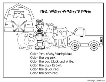 Mrs. Wishy-Washy's Farm Book Companion