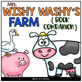 Mrs. Wishy Washy's Farm Book Companion [ Craft and Writing Activity Included! ]