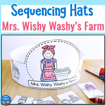 Mrs. Wishy Washy's Farm - Sequencing Hats