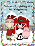 Mrs. Wishy-Washy's Christmas Retelling FREEBIE