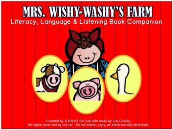Mrs. Wishy Washy's Farm:  A Literacy, Language & Listening Book Companion
