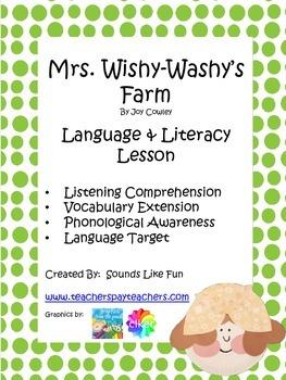 Language and Literacy Lesson: Mrs. Wishy-Washy's Farm