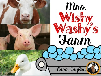 Mrs. Wishy Washy's Farm Literacy and Math Unit