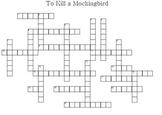 Ms. Boatwright's TKAM Crossword