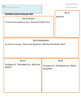 Ms. Brenner's Math Homework Dividing Decimals