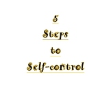 Ms. Busby's 5 Steps to Self-control