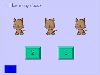 Ms. Cheri's Counting Game - PowerPoint Counting to 10 Game