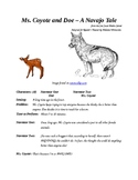 Ms. Coyote and the Doe - A Navajo Tale - Small Group Reader's Theater