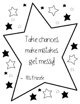 Ms. Frizzle Posters- Inspired by Magic School Bus
