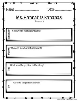 Ms. Hannah is Bananas!