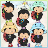 Ms. Lady Bug 1 - Commercial Use Clip Art & Black & White Images