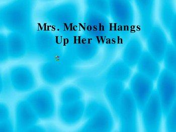 Ms. McNosh Hangs Up Her Wash