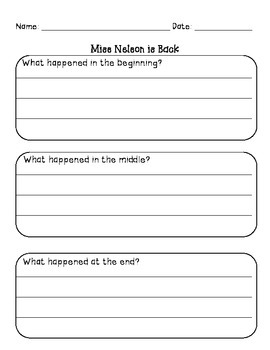 Ms. Nelson Collection for Substitutes