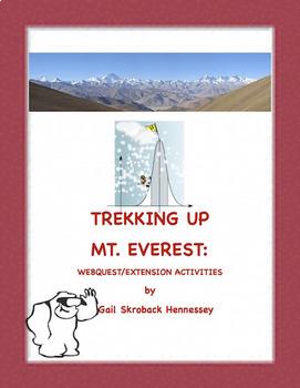 Mt. Everest: Trekking up Mt. Everest: Webquest/ Activities Distance Learning