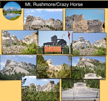 Mt. Rushmore and Crazy Horse Images