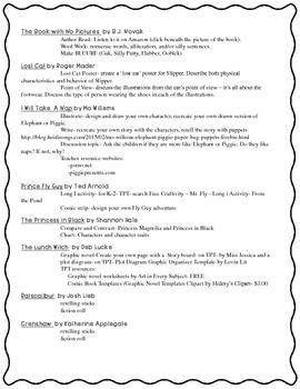 Mt. Vernon Teacher Conference - Books Worth Reading in K-4 Handout