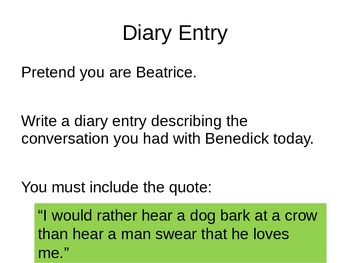Much Ado About Nothing - Beatrice and Benedick