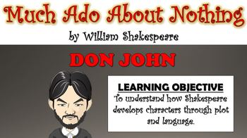 Much Ado About Nothing - Don John