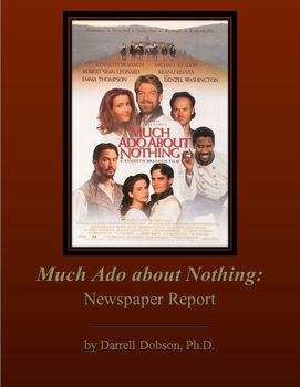 Much Ado About Nothing News Report
