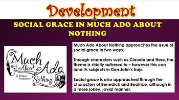 Much Ado About Nothing - Shakespeare's Language Choices!