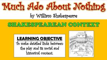 Much Ado About Nothing - Shakespearean Context!