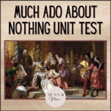 Much Ado About Nothing Test and Answer Key
