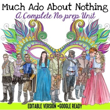 Much Ado About Nothing Unit EDITABLE VERSION