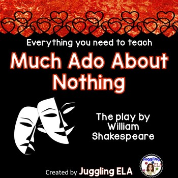 Activities and Handouts for Much Ado About Nothing by William Shakespeare