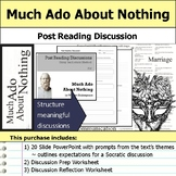 Much Ado About Nothing by William Shakespeare - Socratic Method Discussion