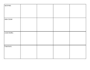 Muckraker Chart