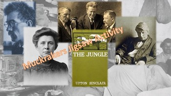Muckraker Jigsaw Activity - Collaborative Progressive Era Activity