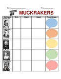 Muckrakers Graphic Organizer- Progressive Era