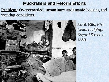 Muckrakers PowerPoint Presentation