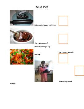 Mud Pie Food Prep Activity