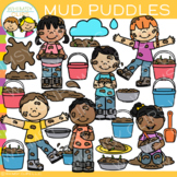 Mud Pies and Mud Puddles Clip Art