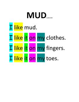 Mud Poem book