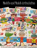 Muddle and Match Articulation - Usborne Book Activity