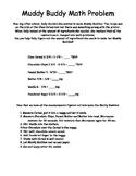Muddy Buddy Math Problems: A Fun Fraction Activity