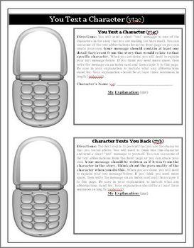 Mudshark Creative Text Messaging Activity Cell Phones