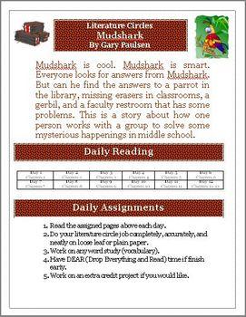 Mudshark Literature Circles