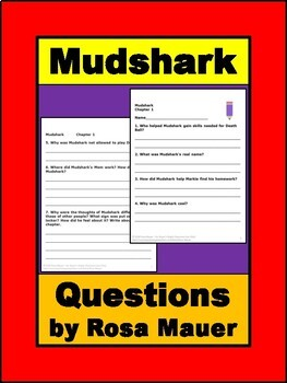 Mudshark by Gary Paulsen Book Unit