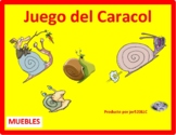 Mobiliario (Furniture in Spanish) Muebles Caracol Snail Game