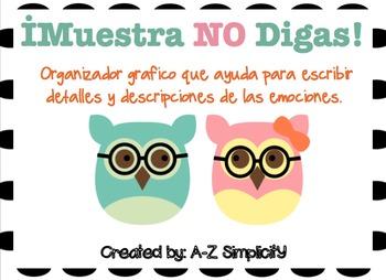 Muestra NO Digas- Organizador Grafico