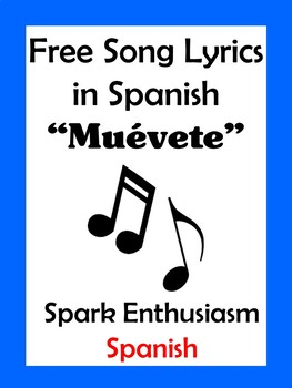 Muevete Song Lyrics in Spanish / Shake It Off