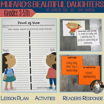 Mufaro's Beautiful Daughters - Reading Lessons and Actvities
