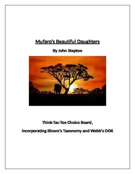 Mufaro's Beautiful Daughters Think-Tac-Toe Enrichment Activities
