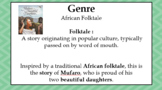 Mufaro's Beautiful Daughters Folktale Unit