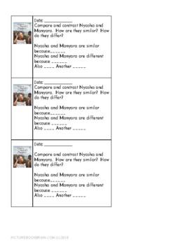 Mufaro's Beautiful Daughters by John Steptoe Lesson Plan and Activities